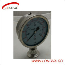 Sanitary Stainless Steel Diaphragm Type Pressure Gauge